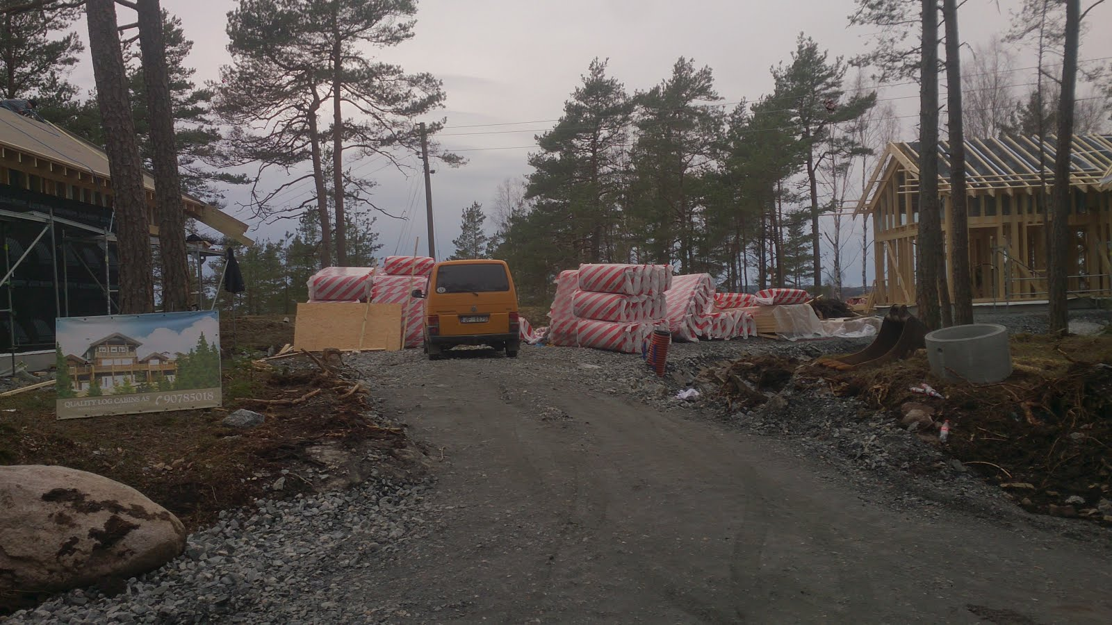 2 nye hytter blir bygget