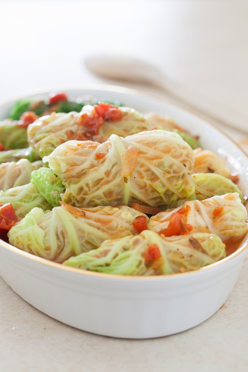 Russian Monday: Vegetarian Stuffed Cabbage Rolls with Quinoa, Onions ...