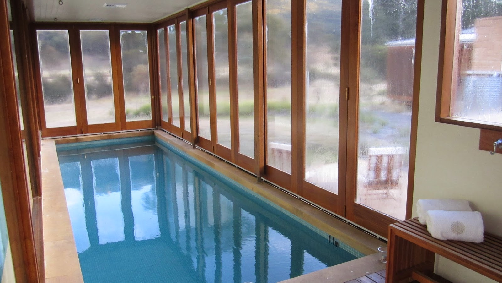 """Heritage Suites"" at Wolgan Valley nsw australia pool swimming"