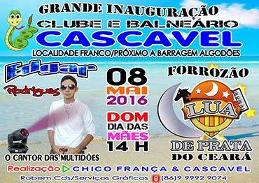 Inauguração Clube e Balneário Cascavel