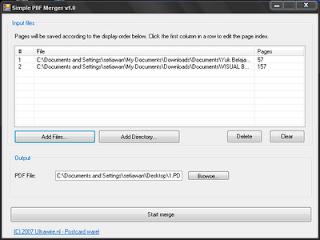 Cara Menggabungkan File PDF dengan Simple PDF Merger
