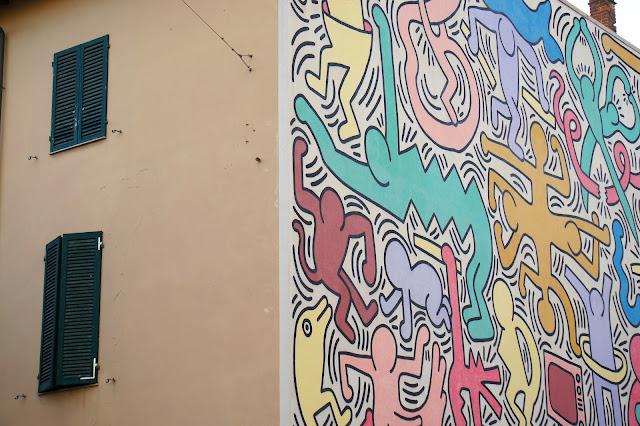 keith haring pisa street art