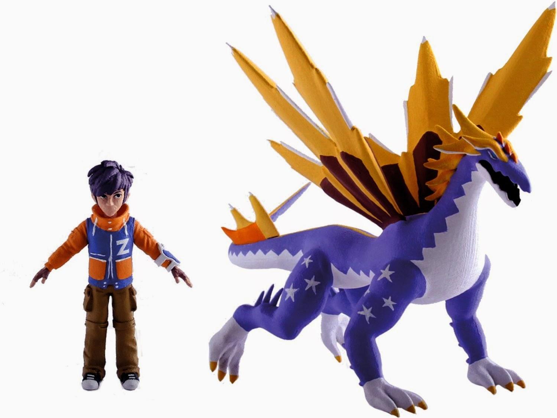 JUGUETES - INVIZIMALS Hiro & Star Dragon Max | Pack Mega Figuras Producto Oficial | IMC Toys 30107 | A partir de 3 años