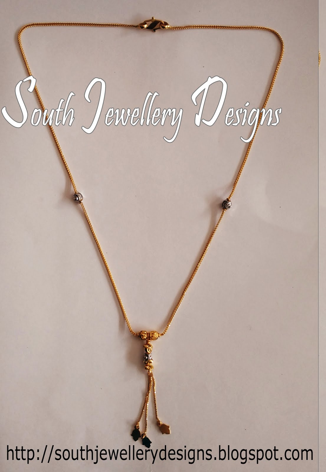 South Jewellery Designs Collections of Necklaces