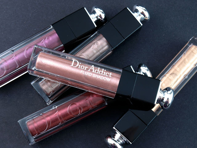 Dior Fall 2015 Dior Addict Fluid Shadow: Review and Swatches