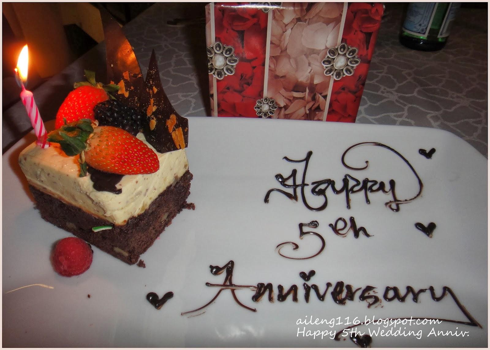 Aileng s diary 爱玲的日记 happy th wedding anniversary 结婚 周年