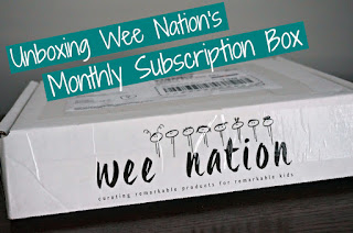 Wee Nation canadian monthly kid's subscription box