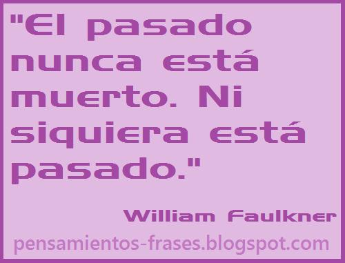 frases de William Faulkner
