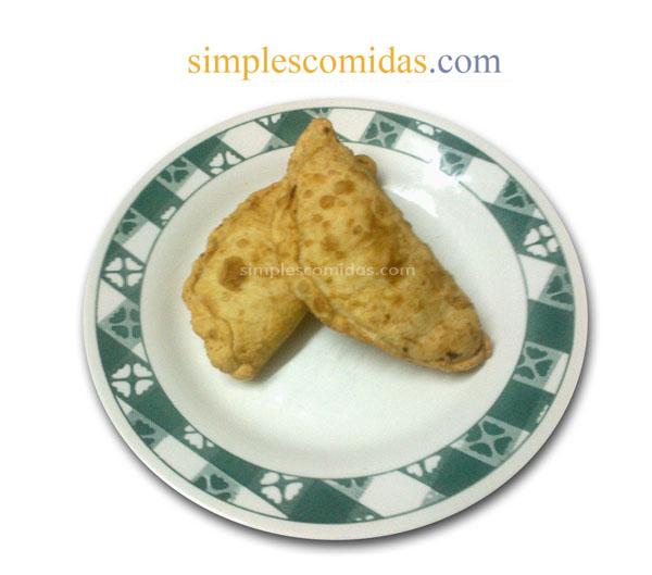 empanadas fritas de jamon y queso