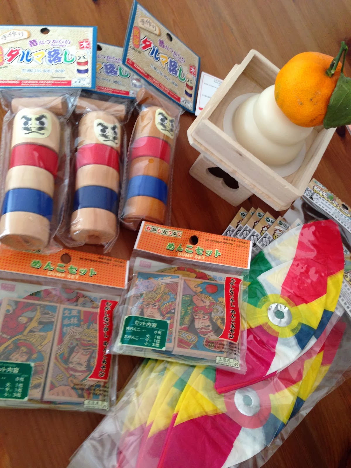 Japan Traditional Toys : Japanese traditional toys mascots around the world