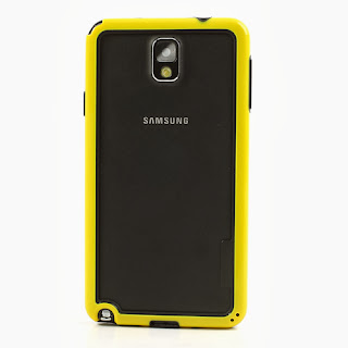 Hybrid Bumper Frame for Samsung Galaxy Note 3 III N9000 N9002 N9005 - Yellow