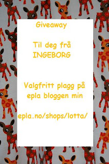 Give Away hos Ingeborg!