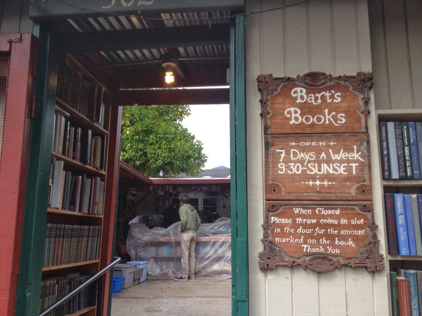 Bart's books, Ojai