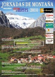 I Jornadas de Montaña Asociación Amigos de Mieres (2014)
