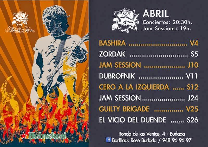 ABRIL EN BLACK ROSE!!