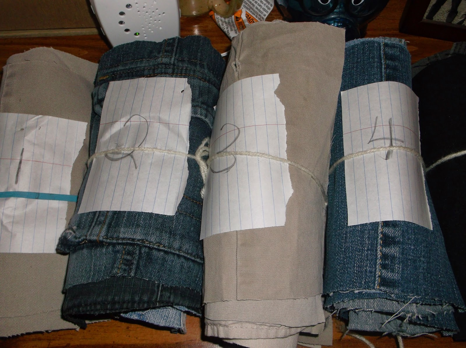 how to make a jean quilt