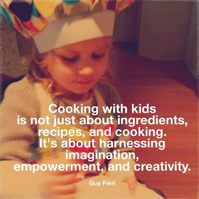 The joy of cooking with toddlers