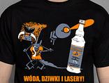 T-shirt Wóda, dziwki, lasery