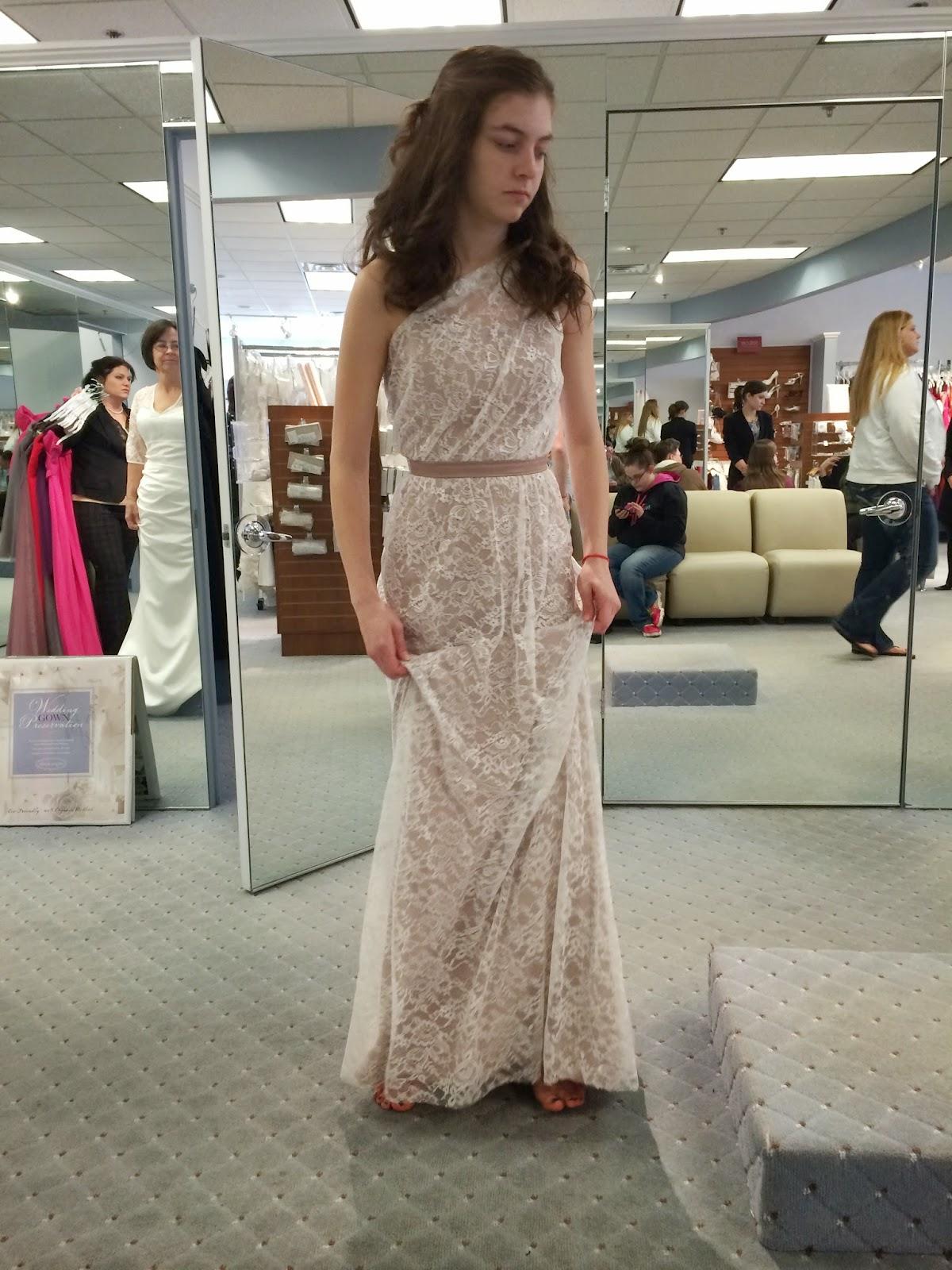 Doeblerghini Bunch:  Bridesmaid Dresses - Long Lace Overlay