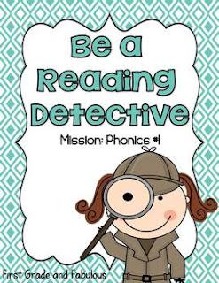 Reading Detective 1-CVC