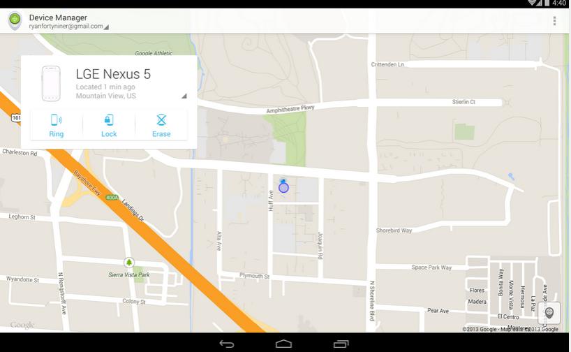 ¿Cómo utilizar el Administrador de dispositivos Android Instrucciones?