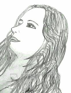 aprenda a desenhar rosto mulher