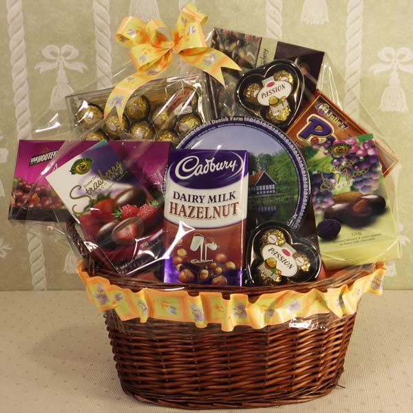 Christmas Cake Hamper Ideas : cake n hampers