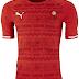 Puma divulga as novas camisas da seleção da Namíbia