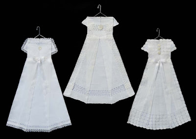 christening gown hanky dress