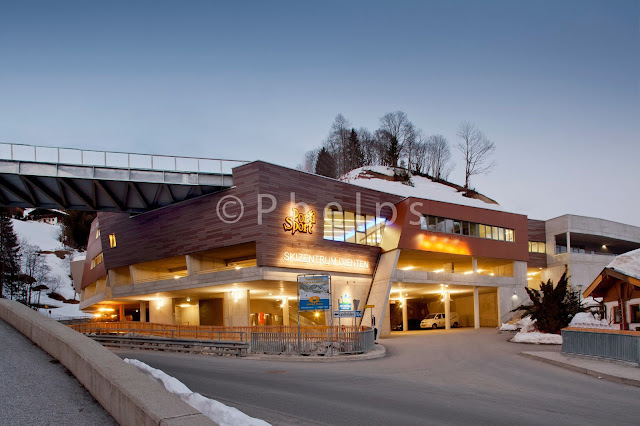 Bergbahn Dienten - Architekt Hasenauer - Foto Andrew Phelps