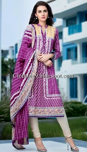 Gul ahmed lawn vol 2 2015 catalog magazine 2 pc summer collection