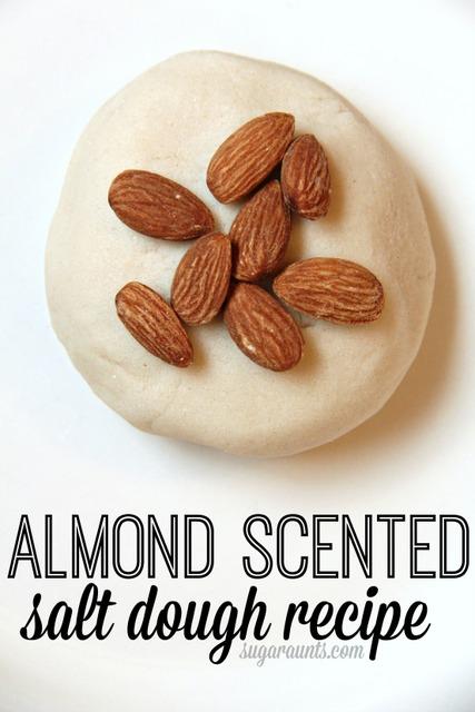Almond scented salt dough recipe