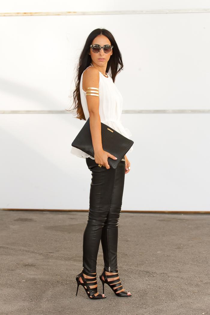 Combinar blanco y negro blog moda Valencia