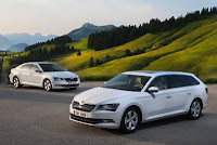 Noua SKODA Superb GreenLine