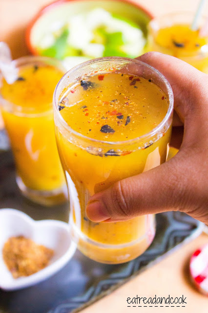 How to make aam pora sorbot