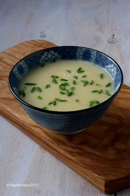 The JC100: Julia Child's Vichyssoise - Photo Courtesy of Mango & Tomato