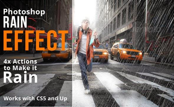 Rain Photoshop Action Free Download ~ Photoshop River - Free Download ...