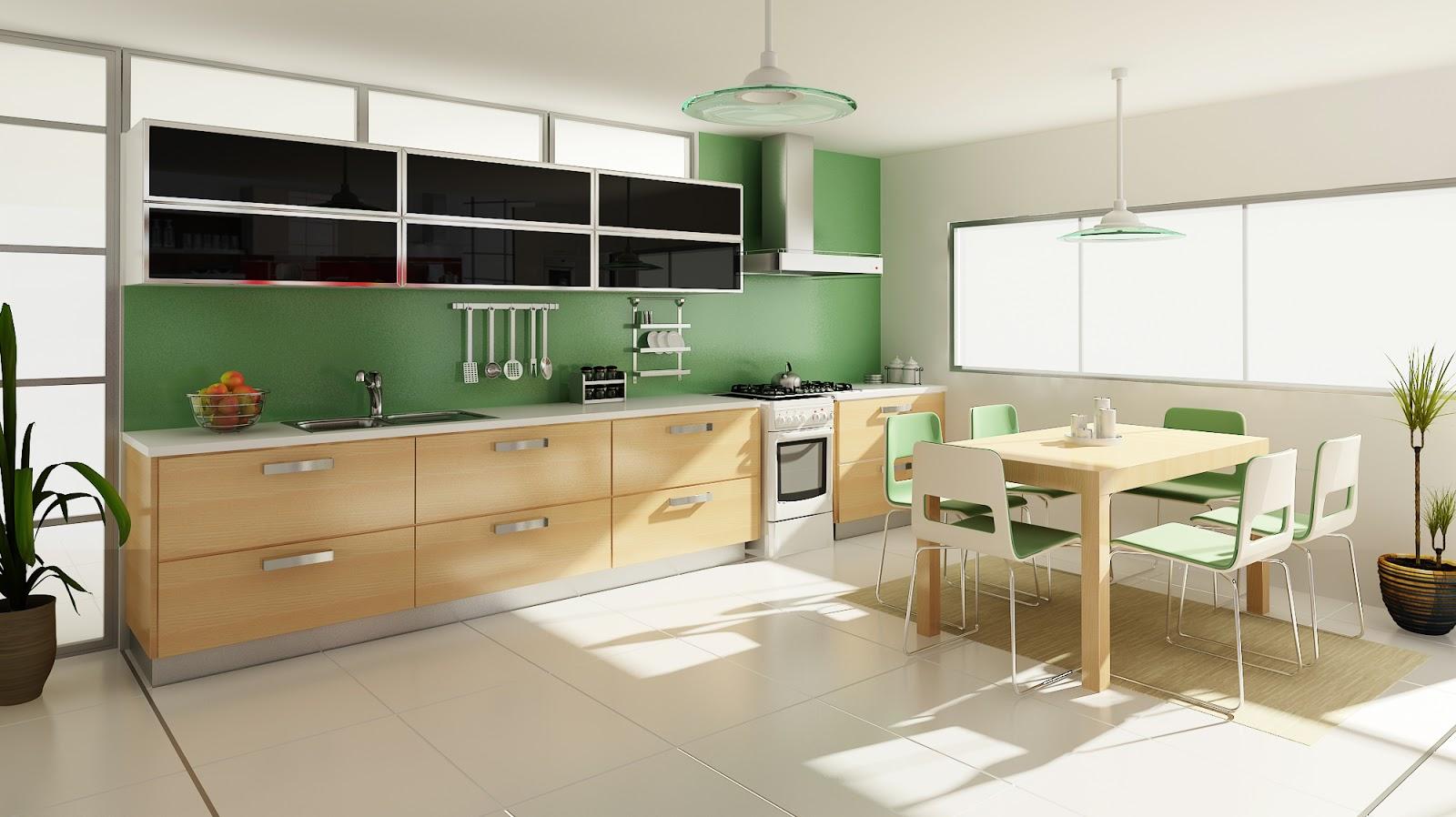 Arquitectura en im genes 3d dise o de interiores cocinas for Diseno interior cocina