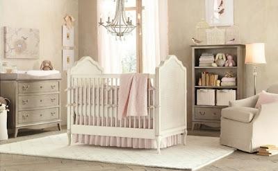 cuarto para bebé rosa