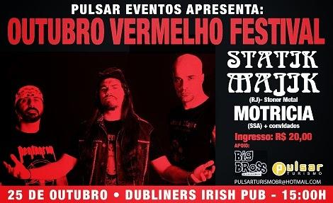 25-10-2012 - OUTUBRO VERMELHO FESTIVAL - Salvador - BA