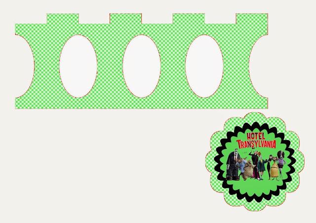 Transylvania Hotel: Free Printable Mini Cupcake Stand.
