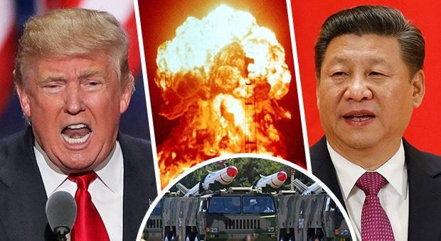Οι ΗΠΑ περικυκλώνουν με «πυρηνική θηλιά» θανάτου την Κίνα. Μαριονέτα ο Τραμπ και ψευτοκυβέρνηση για να λένε οτι έχουν δημοκρατία!