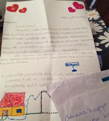 Nos escribió Guadalupe desde Dorila