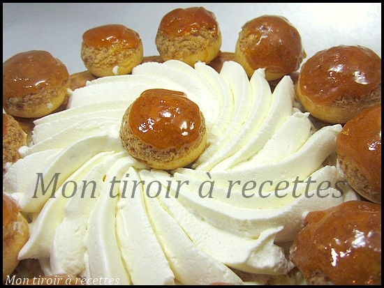 Michel roux jr gateau st honore
