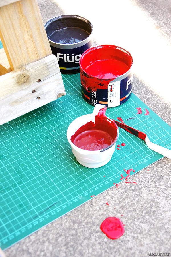 aliciasivert, alicia sivert, alicia sivertsson, lastpall, pallet, måla, färg, paint