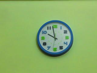牆壁的時鐘