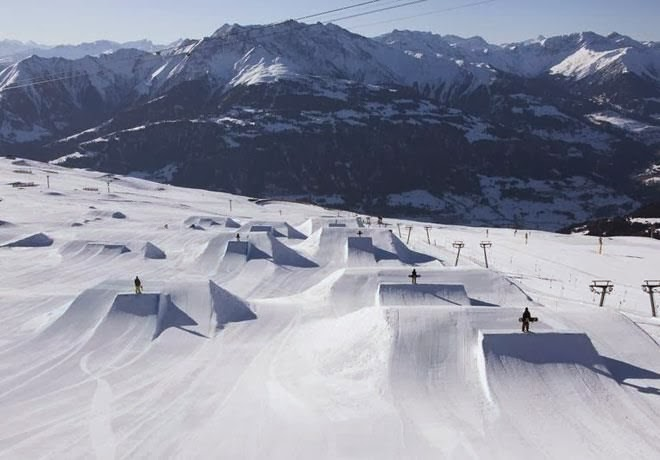 Laax, Switzerland - Top 10 Snow Parks in The World