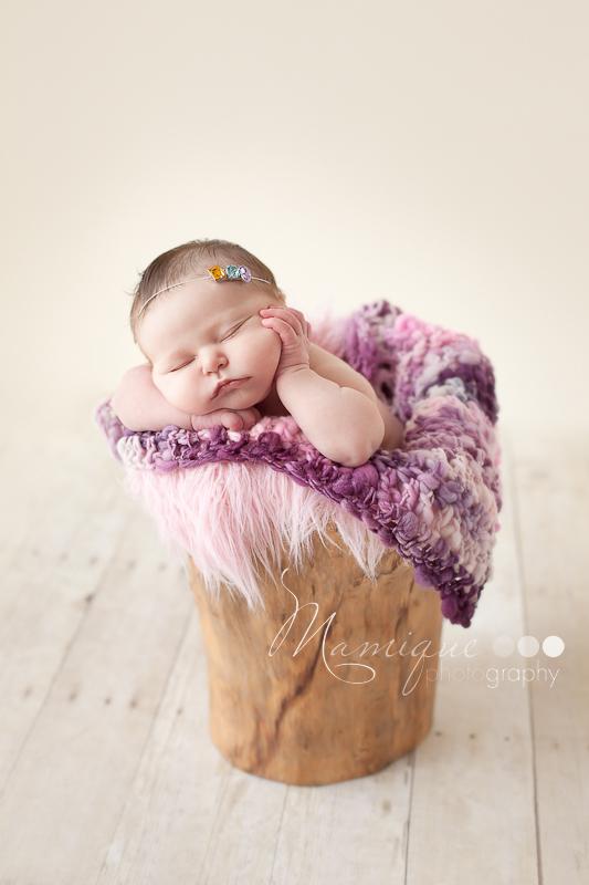 Cute cheeks baby girl