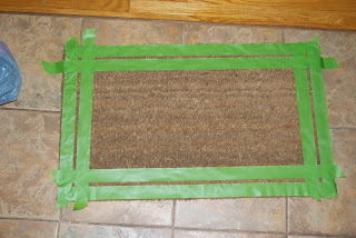 Taped DoorMat