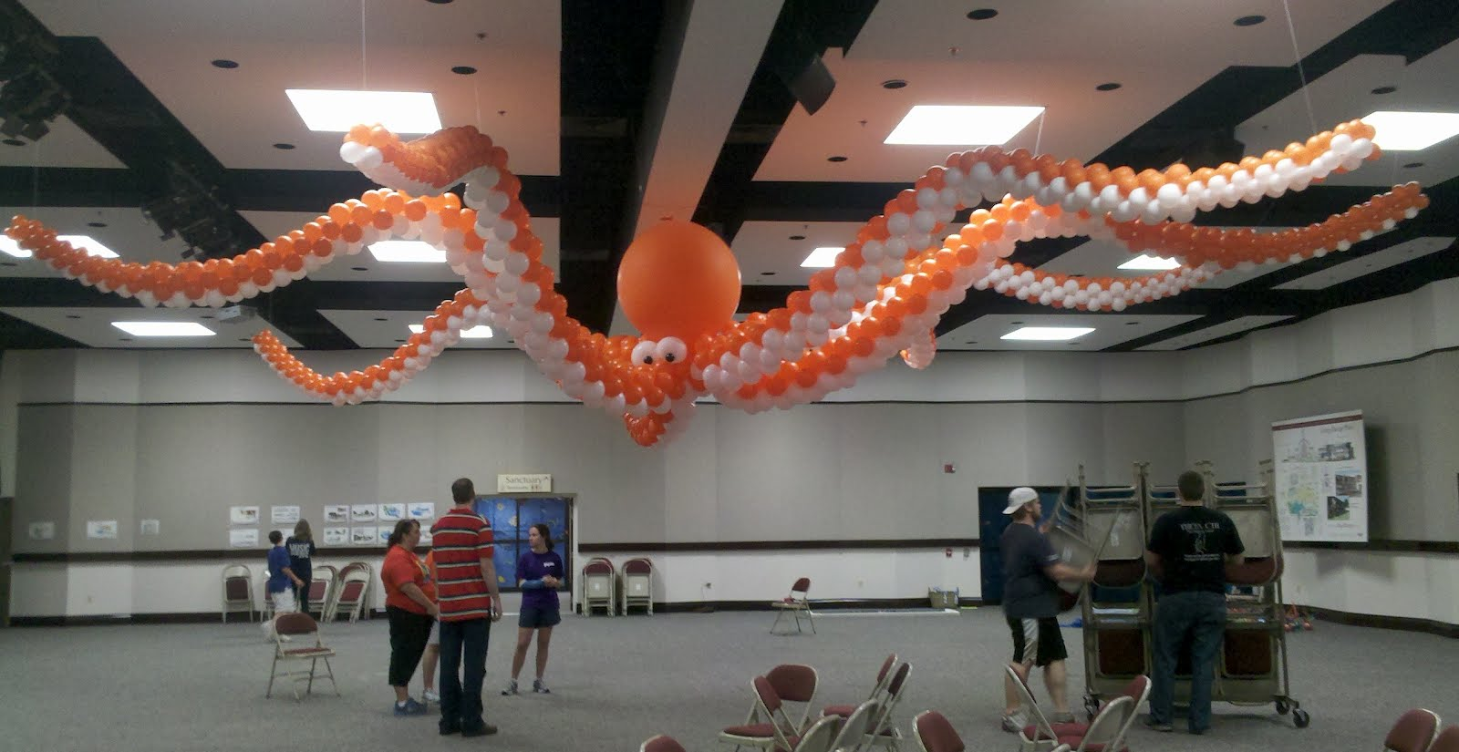 Party People Event Decorating Company Under The Sea Octopus